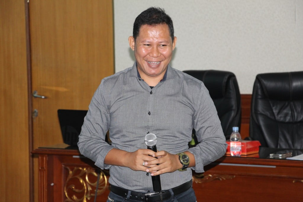 Dr. Riki Apriyandi, M.Pd (Tim Tanoto Foundation sebagai Training Teacher Institute)