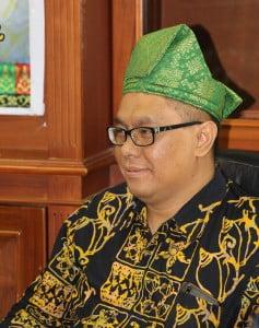 Asesor BAN-PT untuk Prodi Pendidikan Matematika Prof. St Budi Waluya, M.Si. dari Universitas Negeri Semarang dan Prof. Dr. Agus Suryanto, M.Sc. dari Universitas Brawijaya
