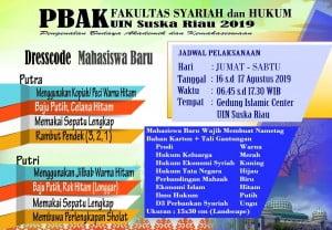 PBAK Fakultas Syariah dan Hukum UIN SUSKA Riau Angkatan 2019