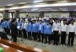 Rektor UIN Suska Riau saat Melantik Ketua SEMA, DEMA, UKK dan UKM terpilih