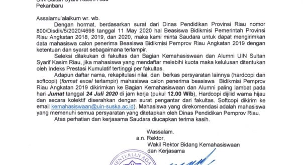 BEASISWA BIDIKMISI DIKNAS ANGKATAN 2019 THUN 2020_001