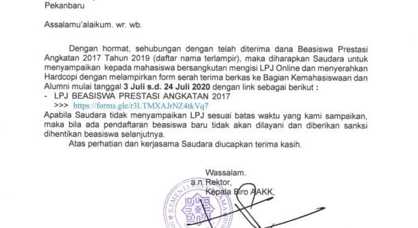 SURAT LPJ BEASISWA PRESTASI DIKNAS ANGKATAN 2017_001