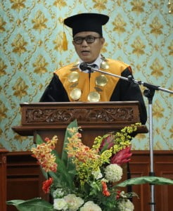 Sambutan Rektor UIN Suska Riau Prof. Dr. Hairunnas, M.Ag