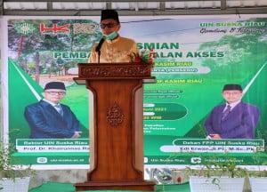 Sambutan Rektor UIN Suska Riau Prof, Dr, Hairunnas, M.Ag
