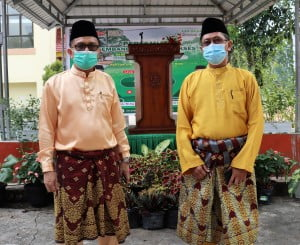 Rektor UIN Suska Riau Bersama Dekan Fapertapet Edi Erwan, S. Pt., M.Sc., P.hD.