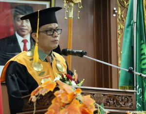 Sambuutan Rektor UIN Suska Riau Prof. Dr. Hairunnas, M.Ag
