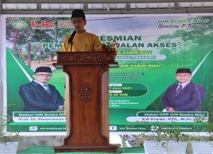 Sambutan Dekan Fakultas Pertanian dan Peternakan Edi Erwan, S. Pt., M.Sc., P.hD.