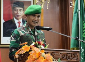 Orasi Ilmiah Brigjen TNI M. Syech Ismed, SE., M. Han Danrem 031 Wira Bima