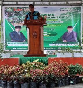 Sambutan Project Direktur PT Hutama Karya Persero Bpk Ir. Bambang Eko