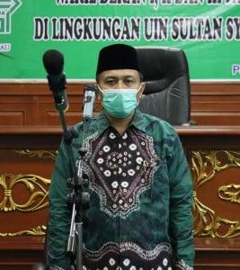 Sambutan Rektor UIN Suska Riau (Prof.DR. H. Hairunnas, M.Ag